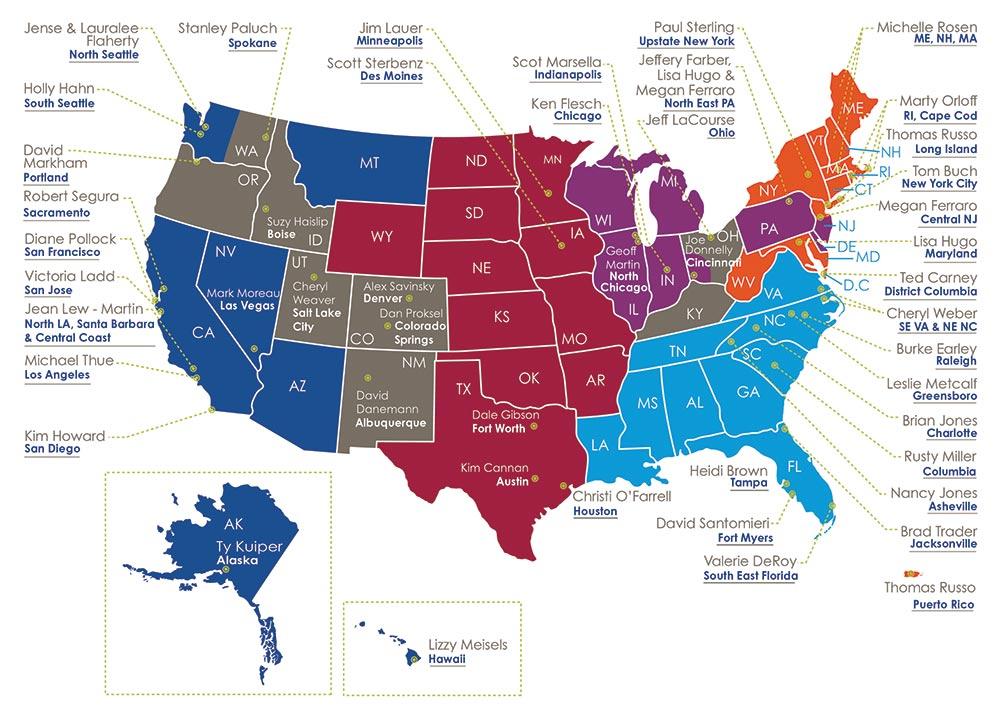 Territory Partner Map